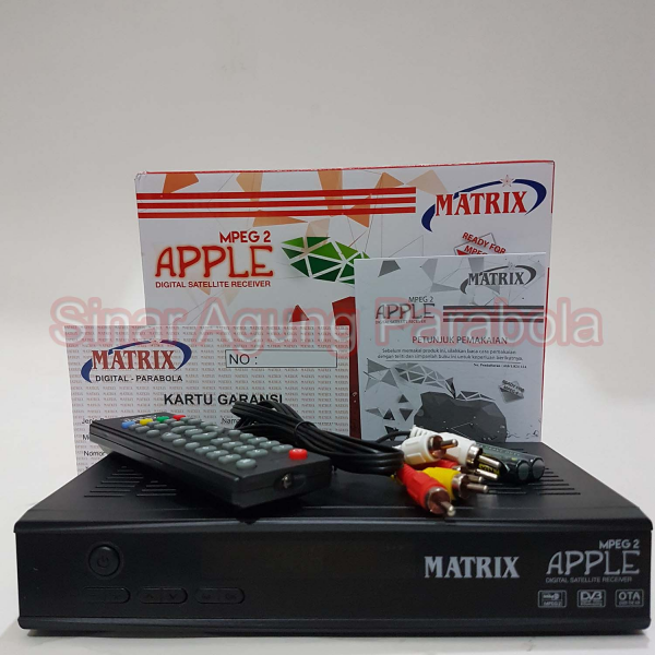 Receiver Matrix Apple MPEG2
