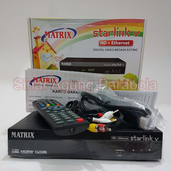 Receiver Matrix Starlink V HD + Ethernet