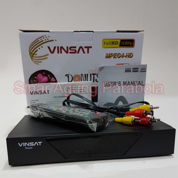 Receiver Vinsat Donut HD