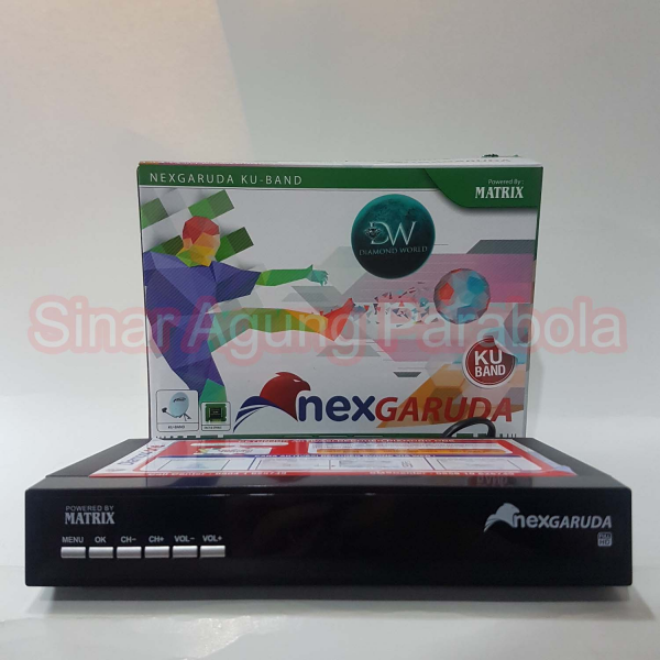 Receiver Matrix NexGaruda Hijau HD
