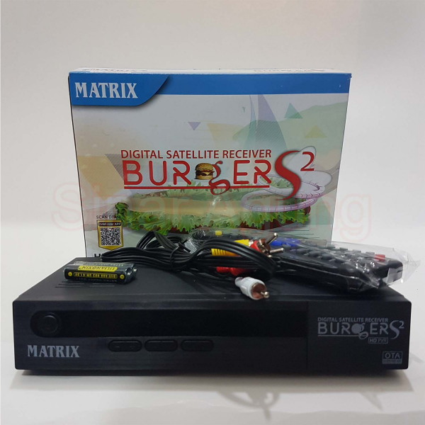 Receiver Matrix Burger HD S2