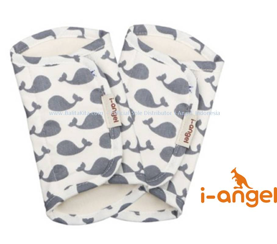i-Angel Teething Pad - Gray Dolphin
