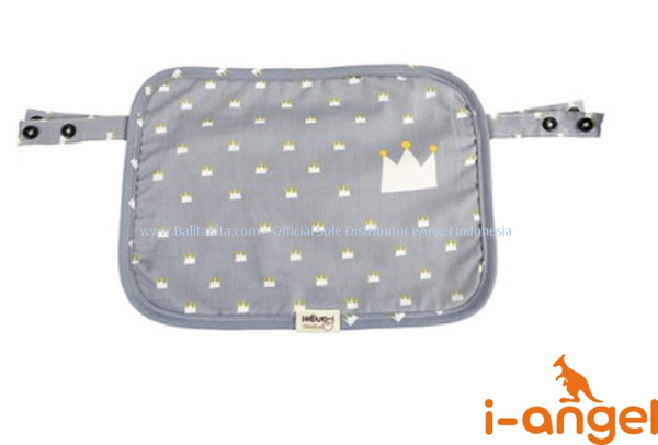 i-Angel Multi Teething Pad - Crown Blue Gray