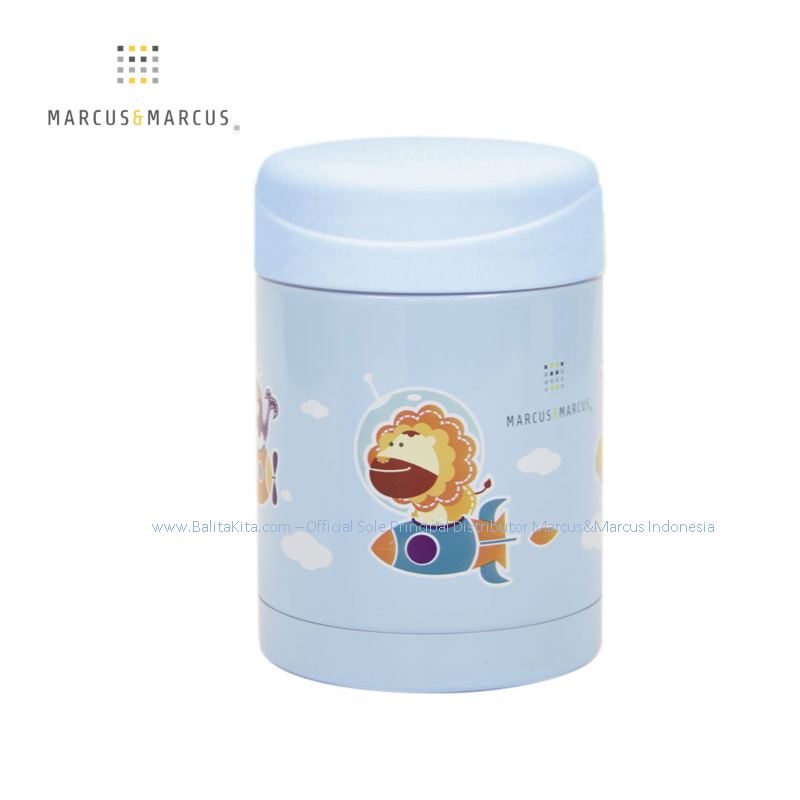 Thermal Food/Drink Jar - Blue (BB13 BL)