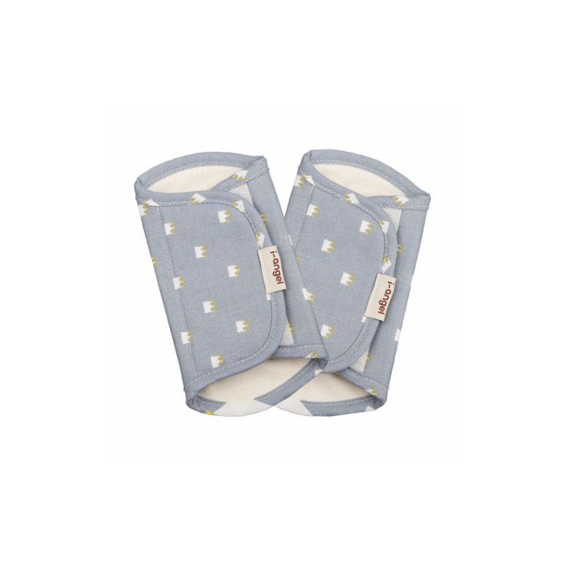 i-Angel Teething Pad - Crown Blue Gray