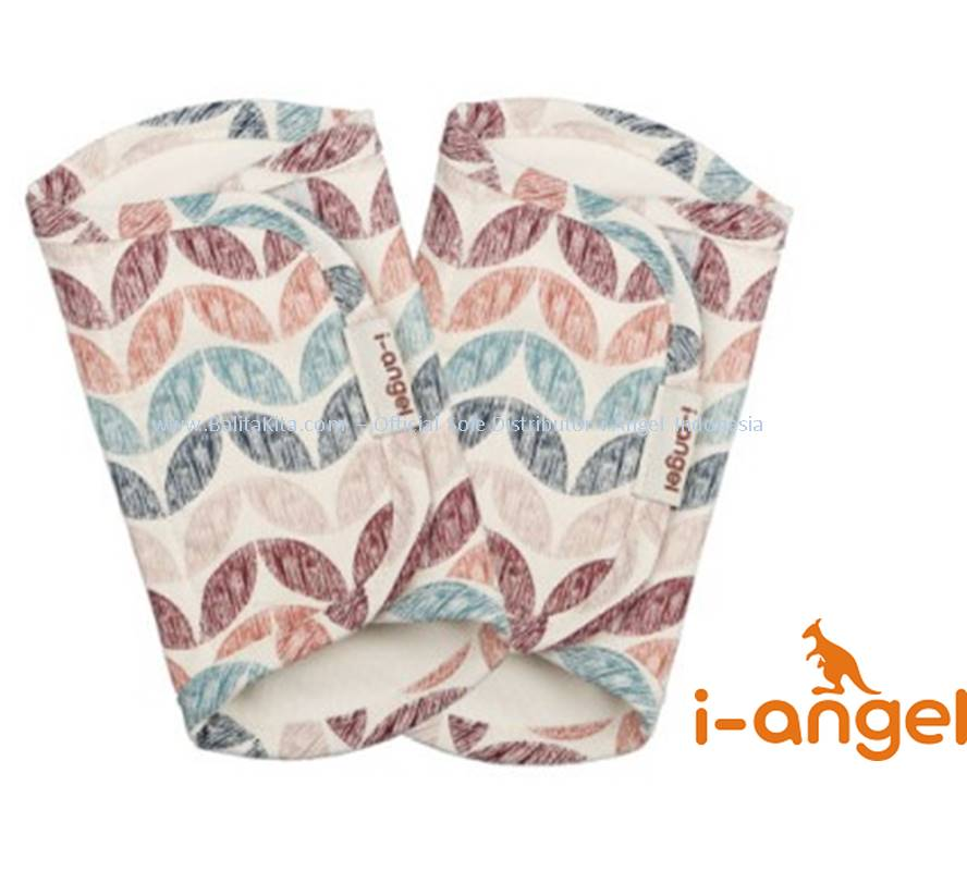 i-Angel Teething Pad - Leaf Wine