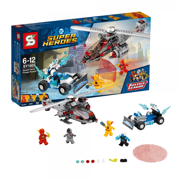 SY Super Heroes 1007 The Flash Speed Force Speed Pursuit