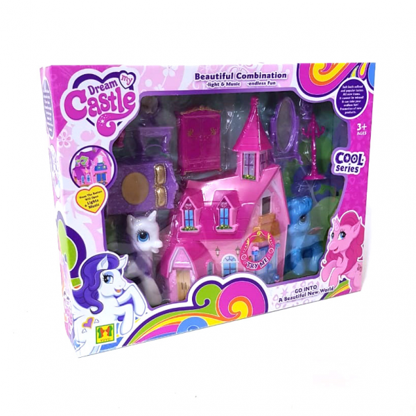 Dream Castle Little Pony SQ-29010