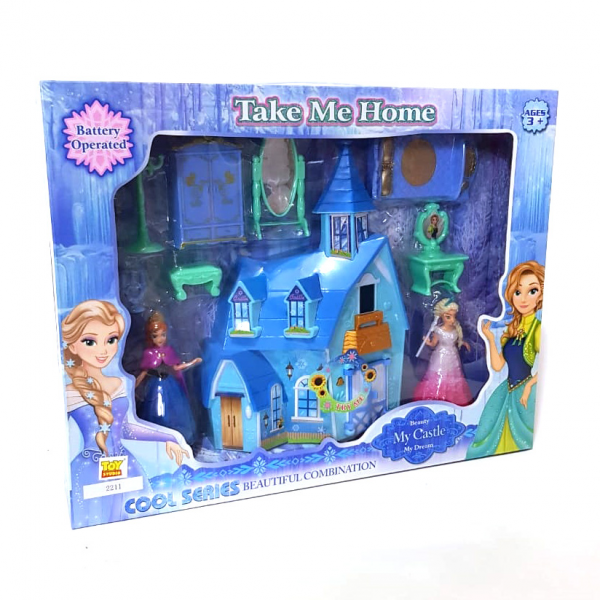 Istana My Dream Castle Frozen 2211