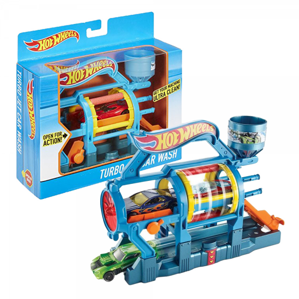 Hot Wheels Turbo Jet Car Wash Track