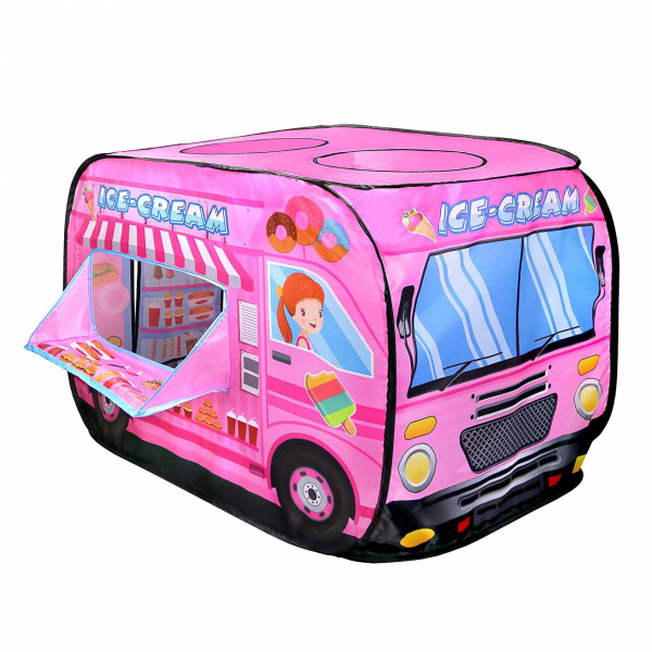 Tenda Mandi Bola Candy Ice Cream Car