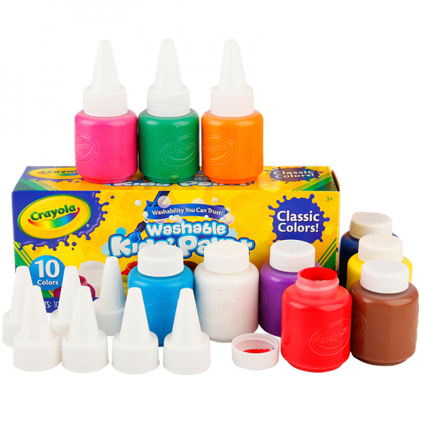 Crayola Washable Kid's Paint 10 pcs