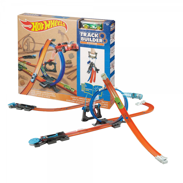 HotWheels Track Builder System Started Kit