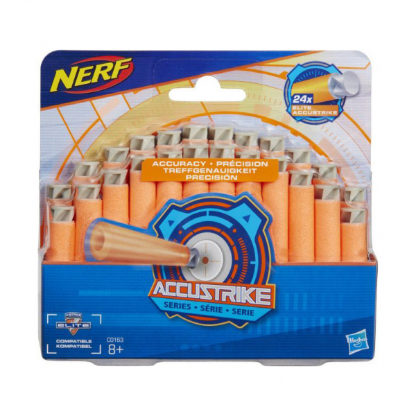 Nerf N-Strike Elite AccuStrike Series Darts 24 pcs Refill Original