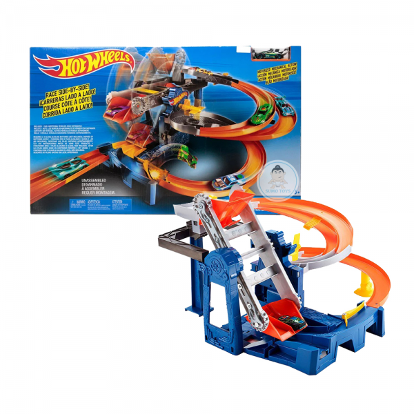 Hot Wheels Factory Raceway Track Set