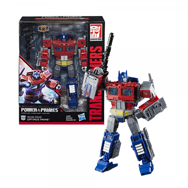 Optimus Prime Transformers Power of the Primes Leader Class - Original
