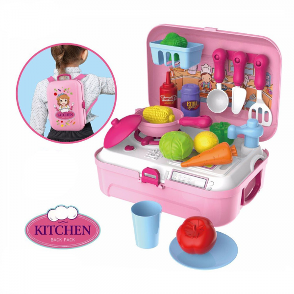 Mainan Kitchen Set Backpack 8742