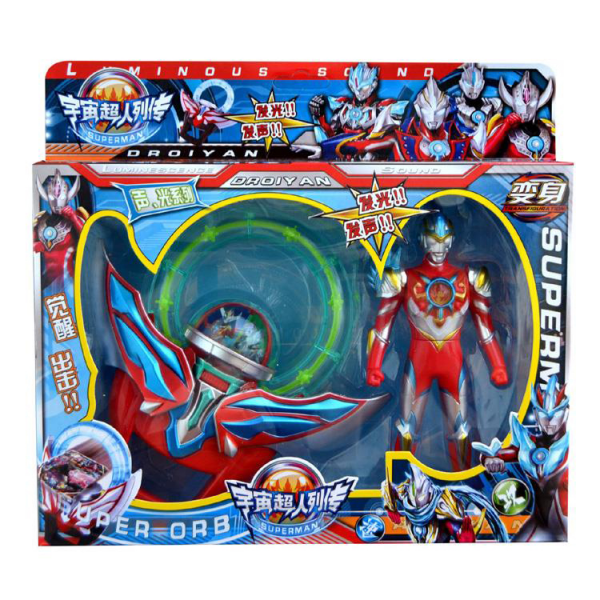 Ultraman Summon Weapons Figures set Sound & LED AB239-10
