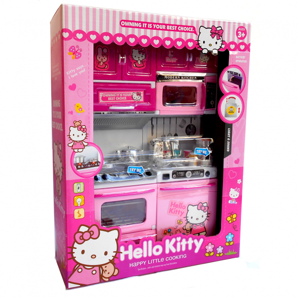 Modern Kitchen Set Hello Kitty