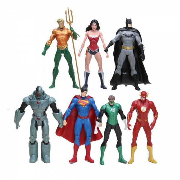 Figure Justice League isi 7 pcs