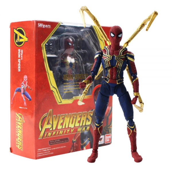 SH Figuarts Iron Spider Avengers Infinity War Figure Spiderman