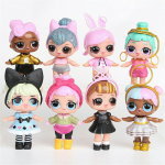 Figure LOL isi 1 set 8 pcs