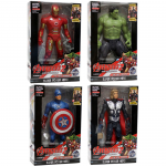 4in1 Avengers Thor + IronMan + Hulk + Captain America KECIL