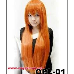 Orange Cosplay Long