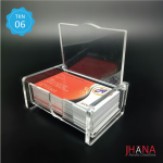 Acrylic Id Card Holder Box - TK01Z2RBX0G