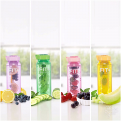 Paket 4pcs Botol Minum Infused New Fit plus