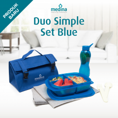 Tempat Bekal Medina Duo Simple Set