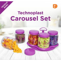 Wadah Toples Technoplast Caraousel Set