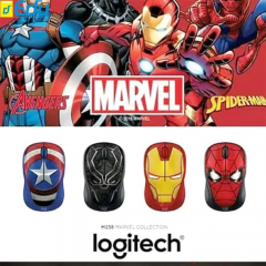 Mouse M238 Logitech Marvel Edition