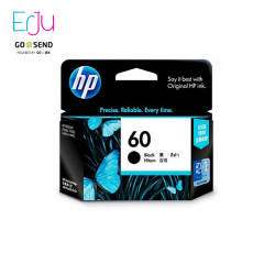 HP 60 Black Ink Hitam Catridge Original