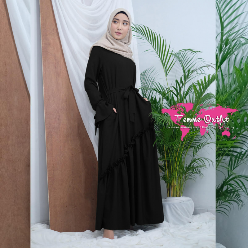 Fatihah Dress Black L