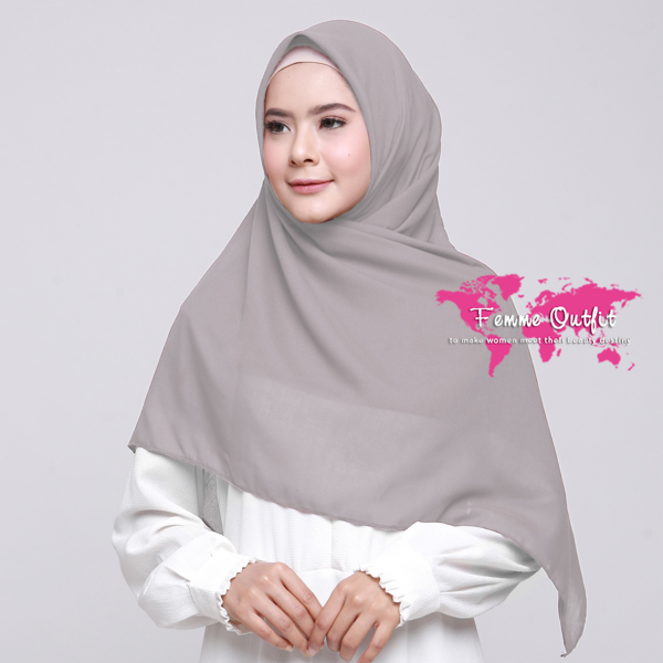 Alicia Shawl Square Light Sand