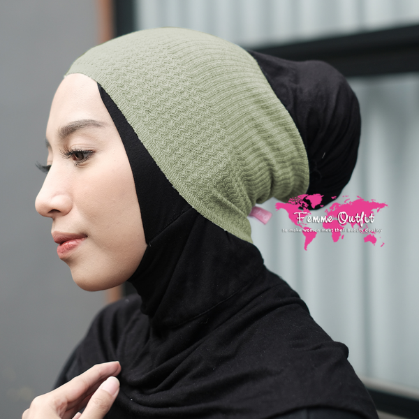 Lizi Knit Head Band Sweet Avocado