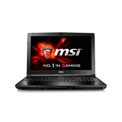 MSI GL62-6QF Core i7 - Gaming Laptop (Black)