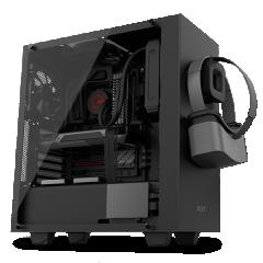 NZXT S340 Elite Mid Tower PC Gaming Case - No PSU (Matte Black)