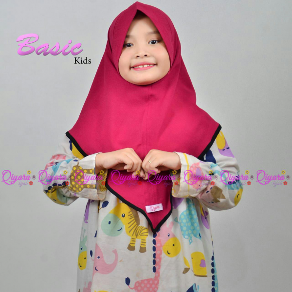 Basic Kids Instant Hijab