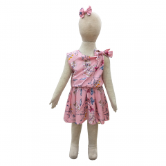 70e74dbdaae Grow Baju Gaun Harian Anak Didi ( Grow Didi Gown Dress Clothes Child Girl )  Multicolor. toylogy toko mainan anak online ...